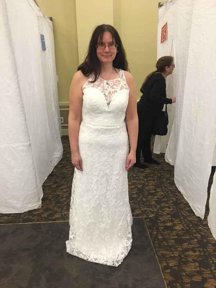 Wedding Dress Alterations - 1