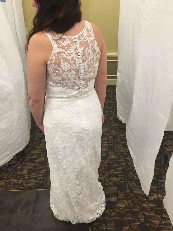 Wedding Dress Alterations - 2
