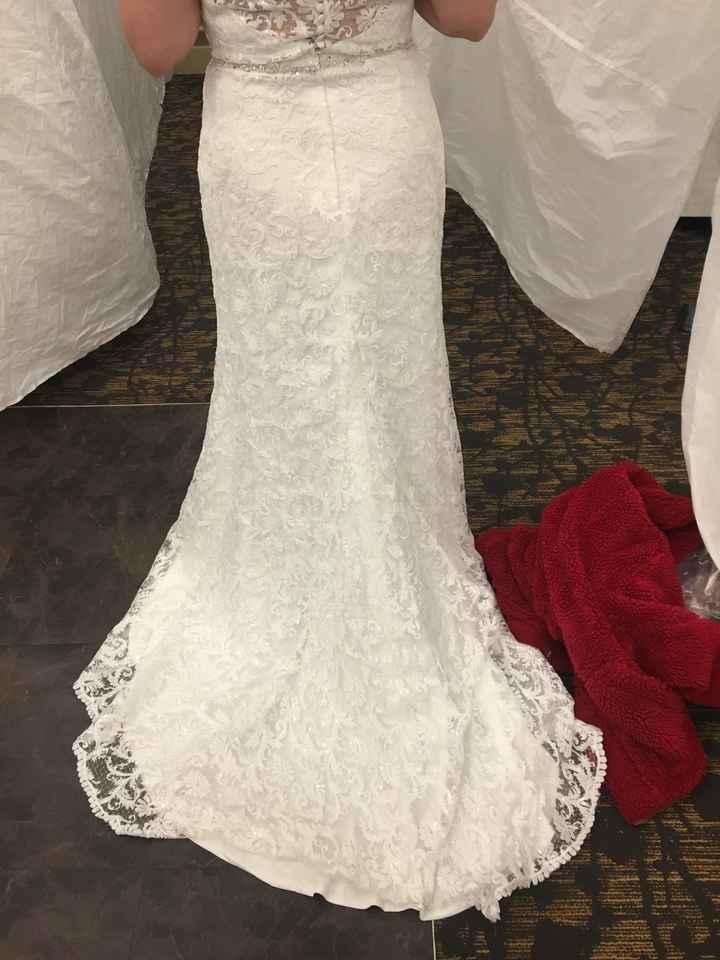 Wedding Dress Alterations - 3