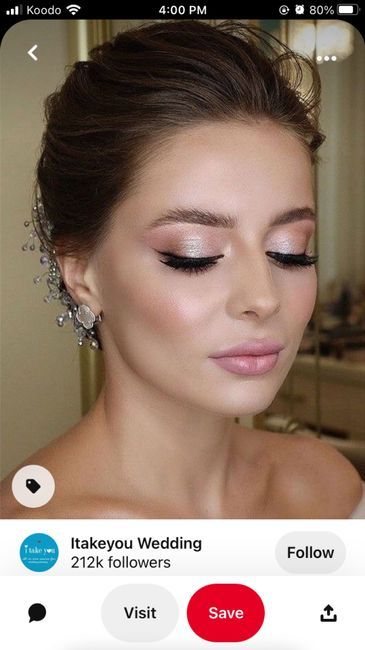 Does my makeup look professional? 1