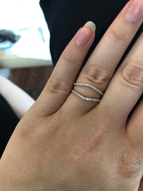 What's your preference? Wedding Band or Wedding Ring Enhancer? 8