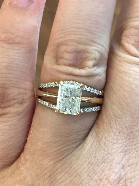 What's your preference? Wedding Band or Wedding Ring Enhancer? 9