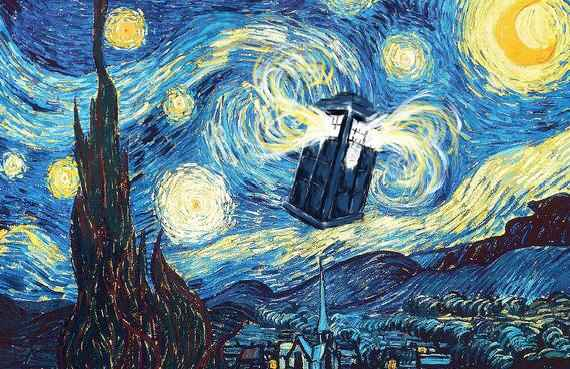 Starry Night meets the Doctor
