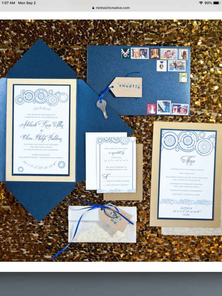 "Inspiration for our invites minus the key and ""toss me"" envelope. We are doing save the dates, invit"