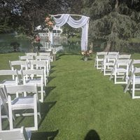 Outdoor Wedding Ceremony & Reception - 1