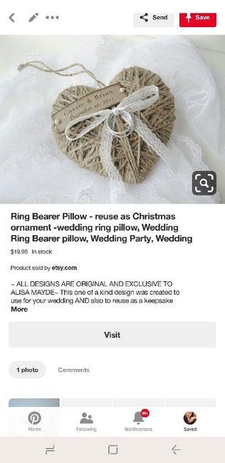 Ring pillow 3