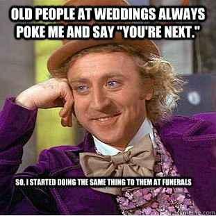 Favourite wedding meme