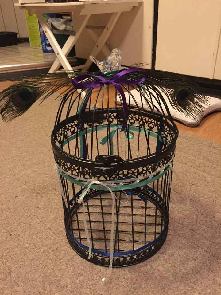 Completed Bird Cage