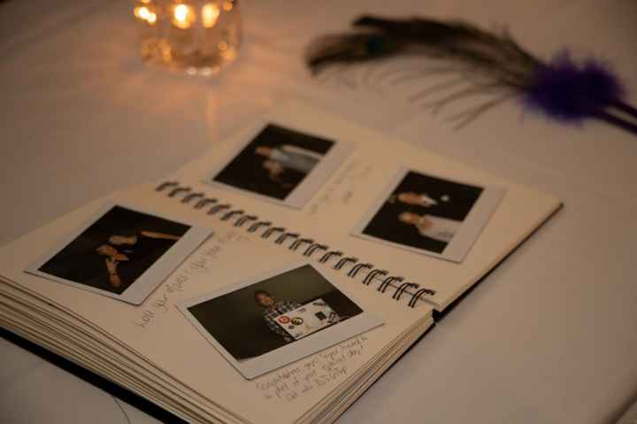 Our Polaroid Guestbook