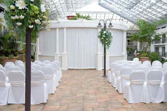 Floral Arch/Backdrop Altar 1