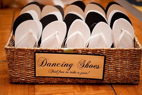 600260b97f1b Flip Flop Baskets - Wedding reception - Forum Weddingwire.ca