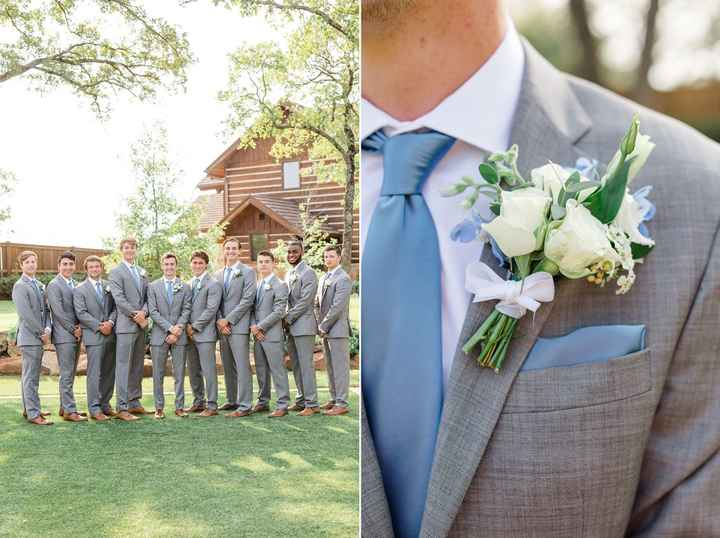 Coordinating the bridesmaids with the groomsmen - 5
