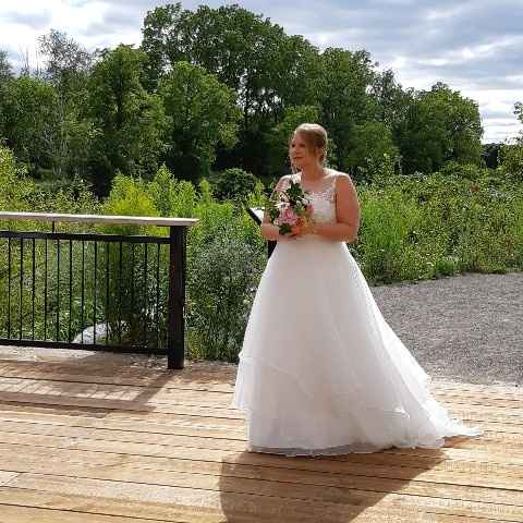 Walking down the aisle by myself - 1
