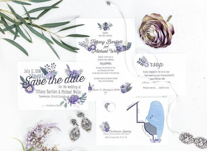 Will your invitation suite have all the bells and whistles?