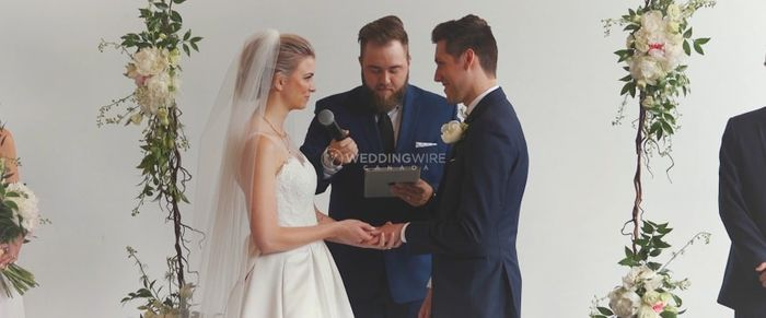Are you writing your own vows? 1