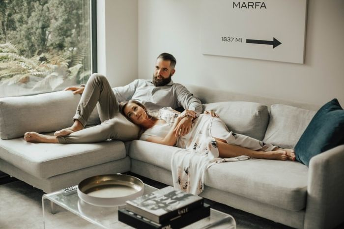 What's the best part of living with your partner? - Living