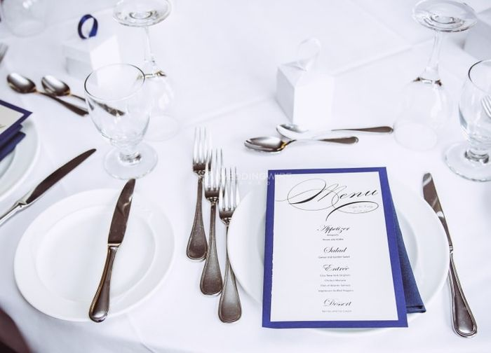 How Long Before The Wedding Did You Finalize Your Menu Wedding