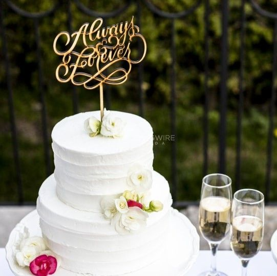Diy Or Buy Cake Topper Diy Forum Weddingwire