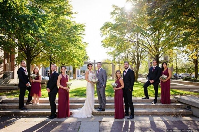 Red Bridesmaid Dresses 5
