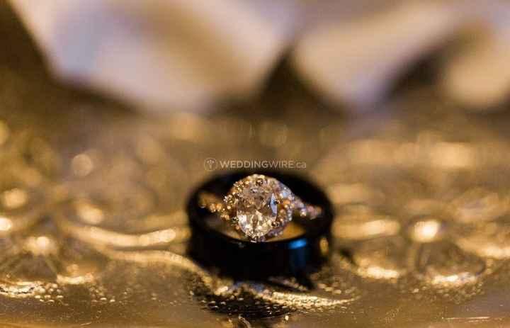 diamond ring black wedding band