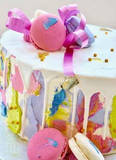 Hand painted wedding cakes? - 4