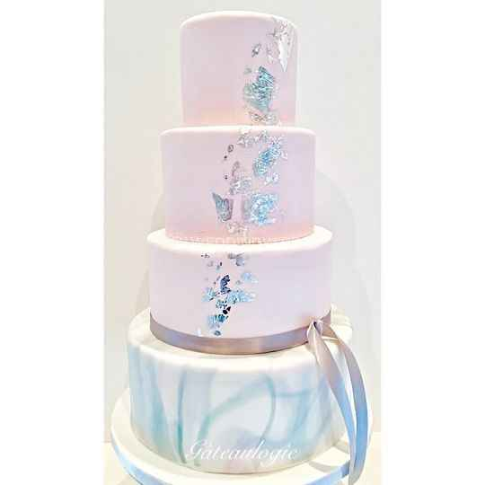 Hand painted wedding cakes? - 5