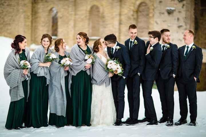 Winter Wedding Shawl/jacket - 4