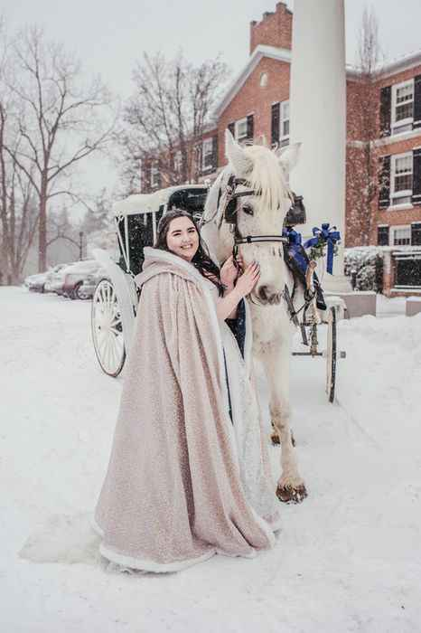 Winter Wedding Shawl/jacket - 5