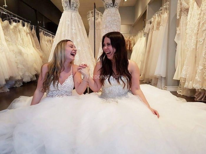 Who is going dress shopping with you? 1