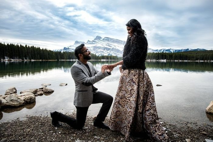 Where did you get engaged? 1