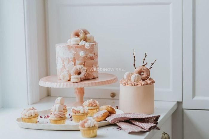 Hand painted wedding cakes? 6