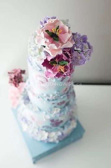 Hand painted wedding cakes? 3