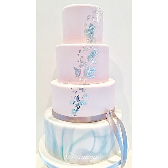 Hand painted wedding cakes? 5