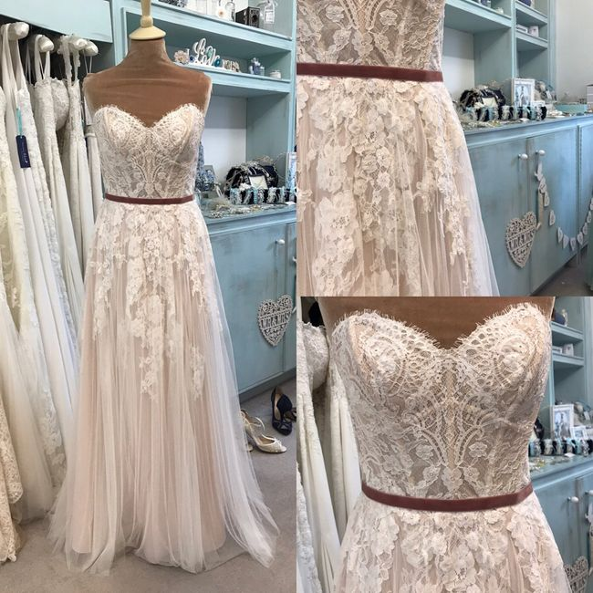 Anyone else second guessing their dress? 1