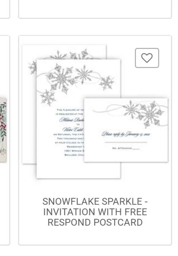 What do your invitations look like? - 1