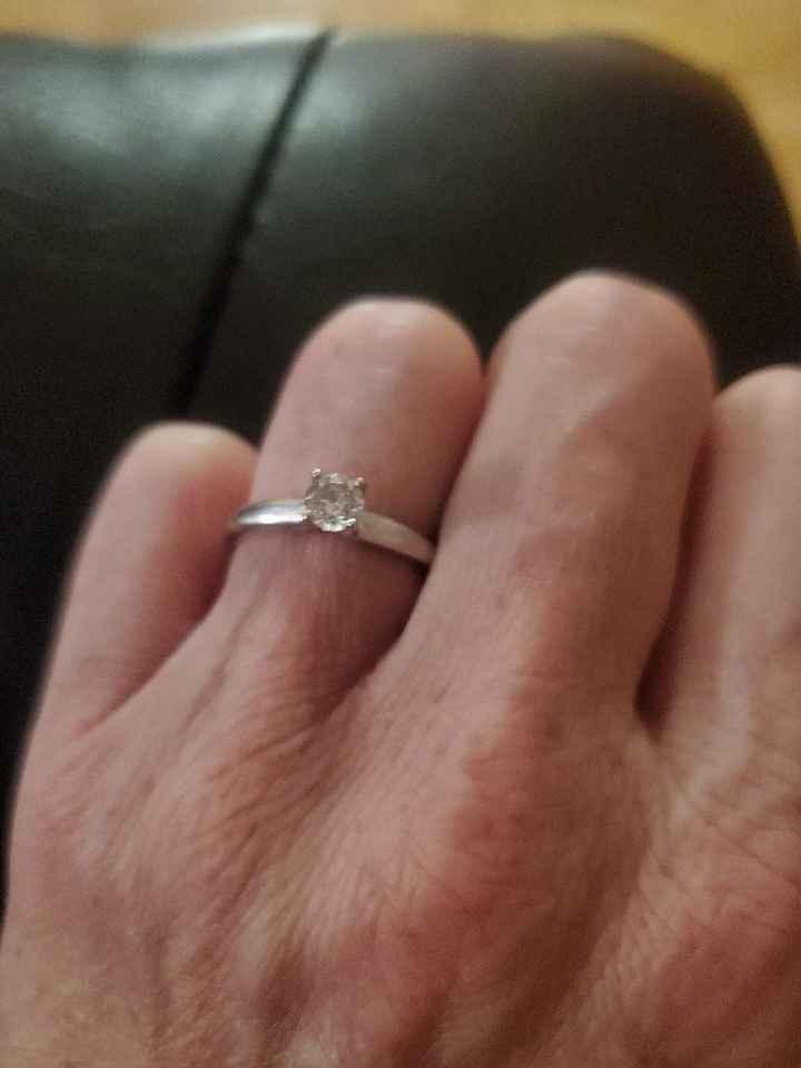 Ladies, Let's See the Custom Rings! - 1