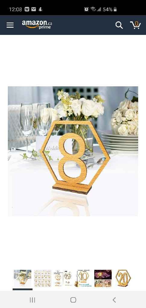 Simple Table numbers - 1