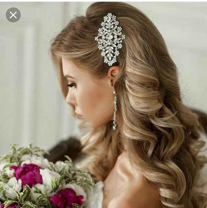 Bridal hair - 1