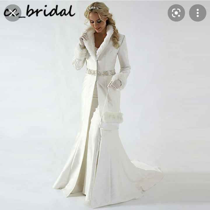 Winter Wedding Shawl/jacket - 2