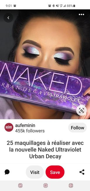 Lilac wedding makeup?? Too much!? 3