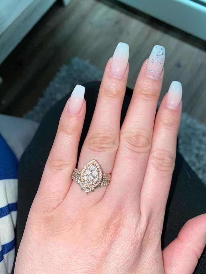 Princess Wishbone Ring - 1