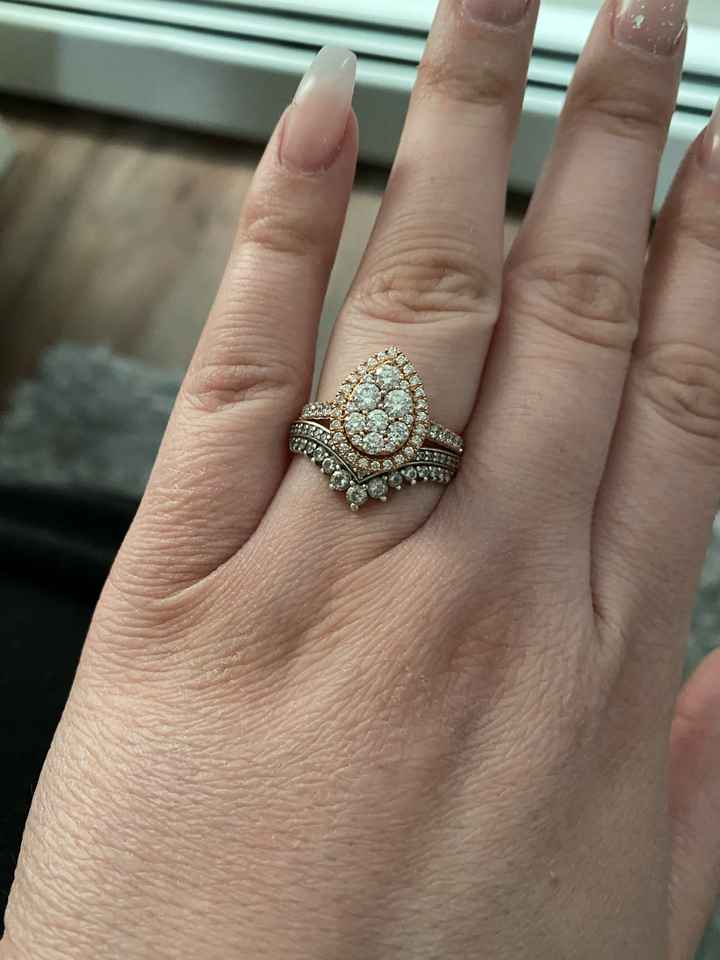 Princess Wishbone Ring - 2