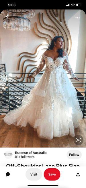 Dilemma between Wedding Dresses 2