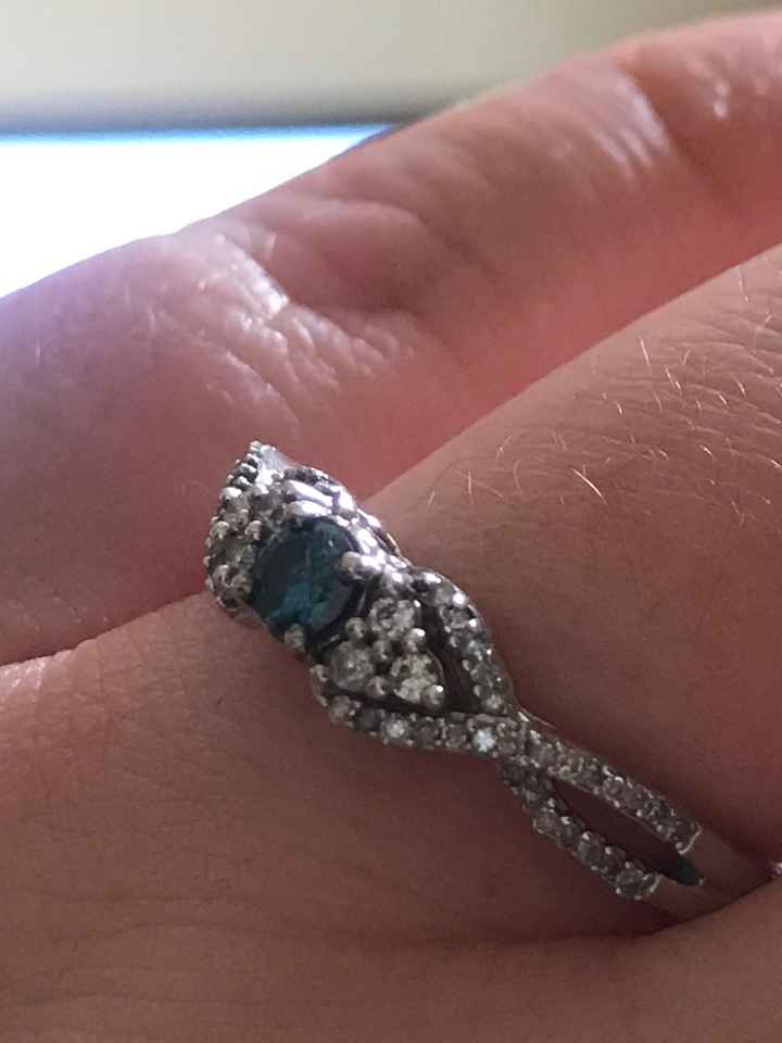 Engagement ring too big - 1