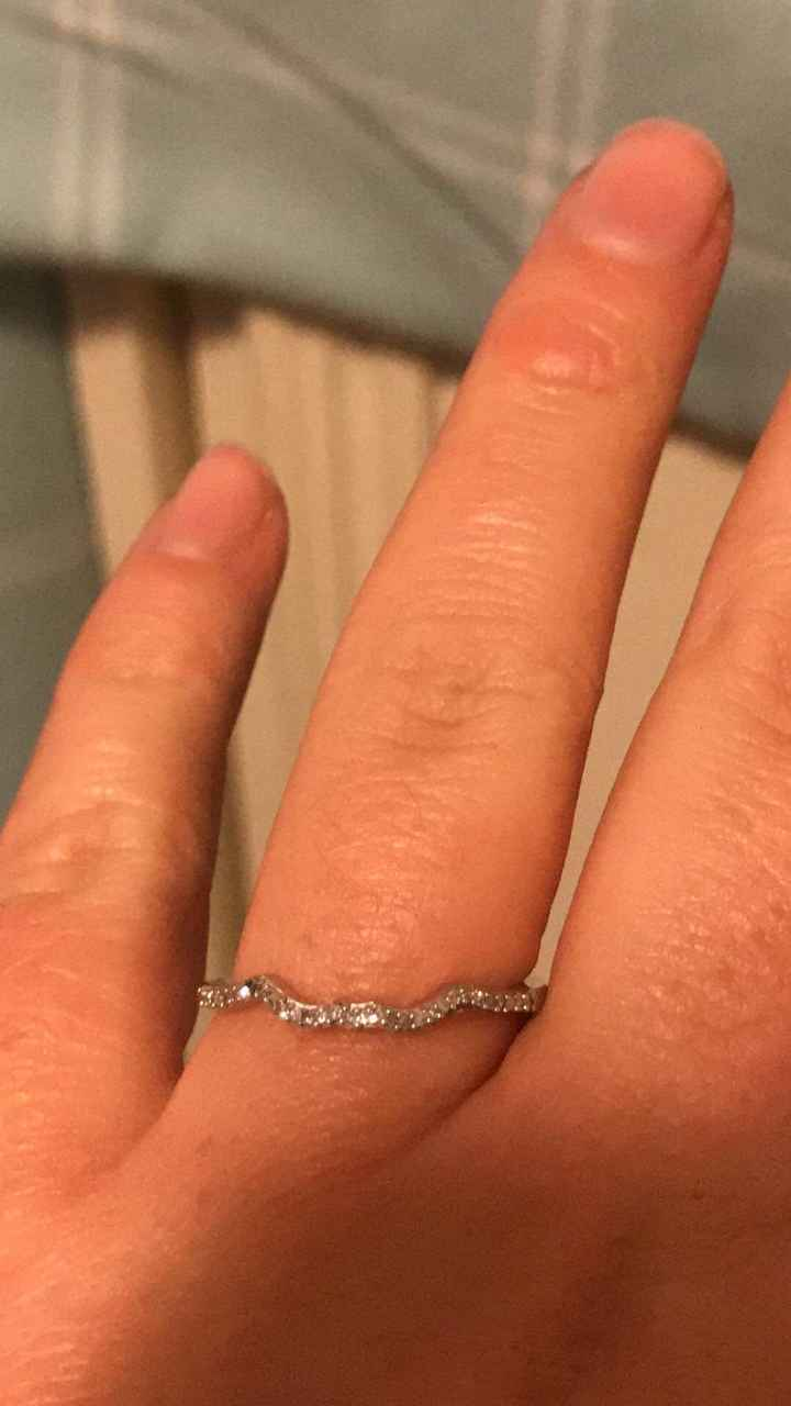 What's your preference? Wedding Band or Wedding Ring Enhancer? - 1