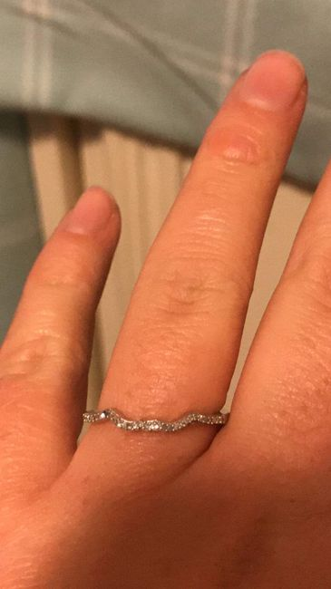 What's your preference? Wedding Band or Wedding Ring Enhancer? 6