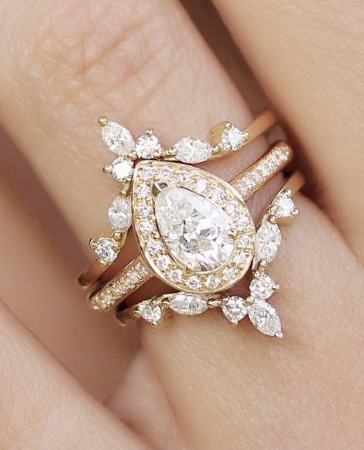 What's your preference? Wedding Band or Wedding Ring Enhancer? 2