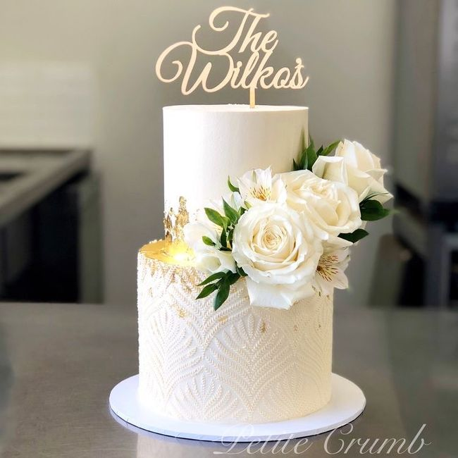 How much did your wedding cake cost? 1