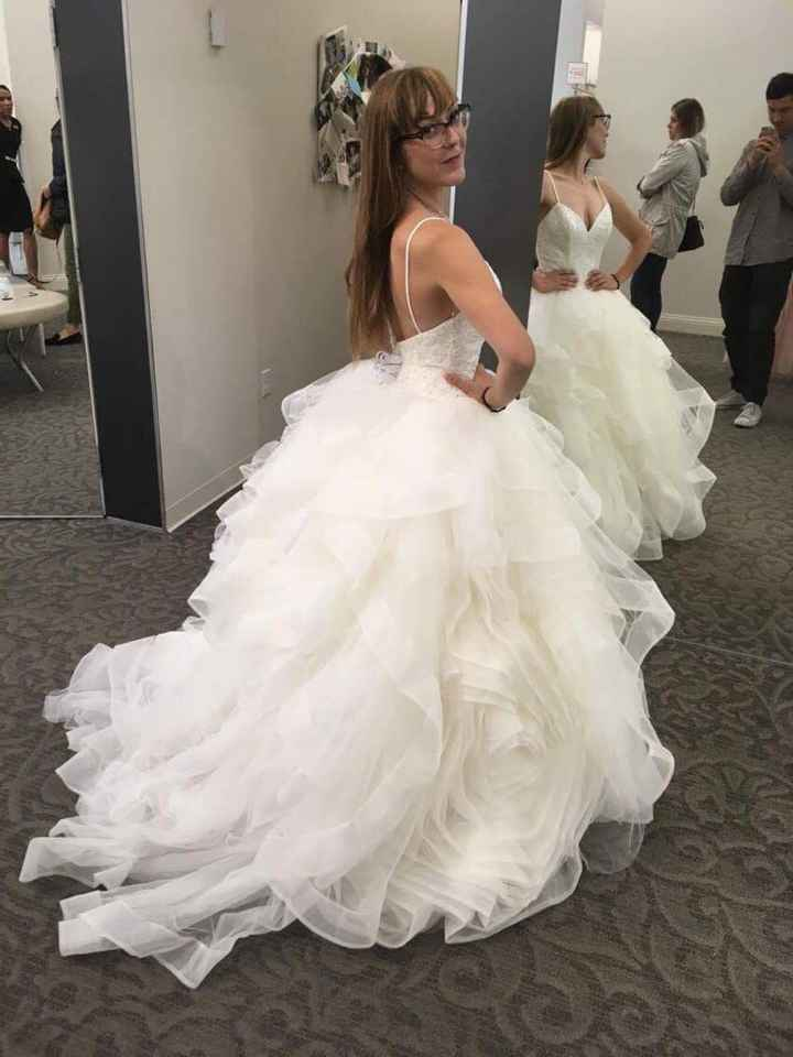 Most popular wedding dress styles in Canada? - 1