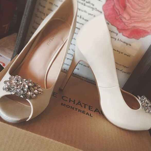 Wedding bridal shoes and accessories Montreal area - 1